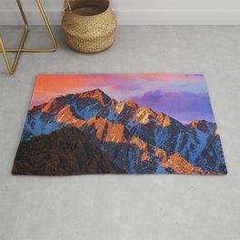 Lone Pine Peak Alabama Hills California United States Ultra HD Rug