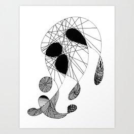 Harlequin Phantasy Art Print