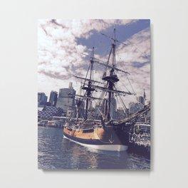 Sydney's Ship Metal Print