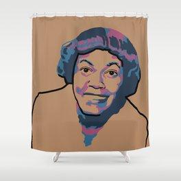 Gwendolyn Brooks Shower Curtain