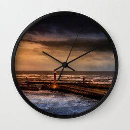 Whitby Harbour Wall Clock