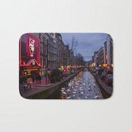 Paysage urbain d'Amsterdam // Amsterdam Cityscape Bath Mat