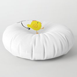 Humor and Funny: Guess What? Chicken Butt! Floor Pillow
