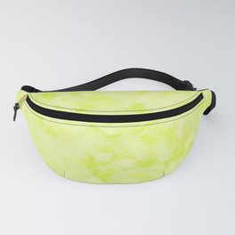 Abstract pattern . Lime . Fanny Pack
