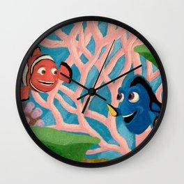 Dory and Marlin Wall Clock