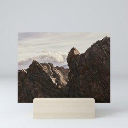 Sawtooth 05 Mini Art Print