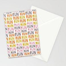 Pattern Project #19 / Run Run Run Stationery Cards