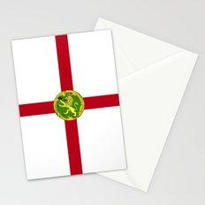 Alderney Flag Stationery Cards