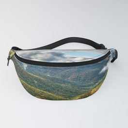 Photos USA Pisgah National Forest Nature Autumn Mountains Scenery Forests Clouds mountain forest landscape photography Fanny Pack