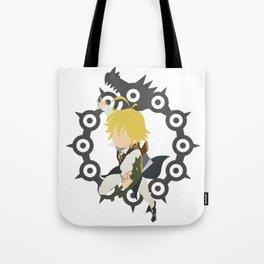 Dragon's Sin Of Wrath - Meliodas Tote Bag