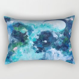 Waves of Light Rectangular Pillow