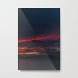 Sunset on the Island Metal Print