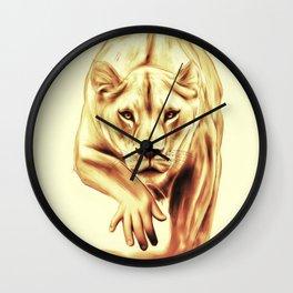 Hunting gently Wall Clock