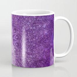 star mandala deep in the dark purple dream Coffee Mug