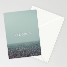 </hope> Stationery Cards