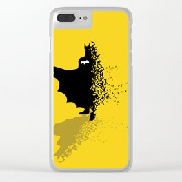 Hero Behind The Shadow Clear iPhone Case