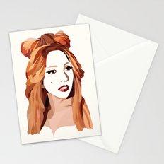 Monster Goddess Stationery Cards