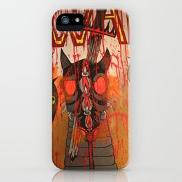 The Second Horse, War iPhone Case