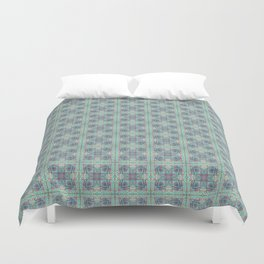Butterfly Semi-Plaid Duvet Cover