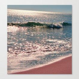 Sparkle Morning Sea Canvas Print