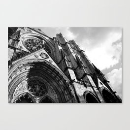 Cathedral of Saint John The Divine  Canvas Print