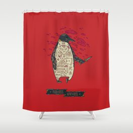 Emperor of Pain Shower Curtain