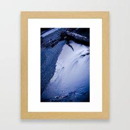 Sticks And Stones Break Glass Framed Art Print