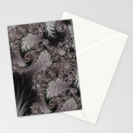 Folding Feathers - Fractal Art  Stationery Cards
