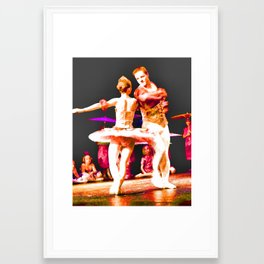 Beauty of the Dance Framed Art Print