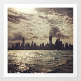 Lake View Chicago Art Print