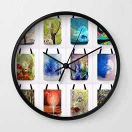tote Bags Wall Clock