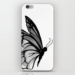 Ink butterfly iPhone Skin