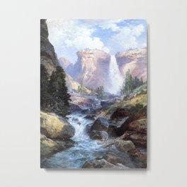 Moran Thomas Under the Red Wall Grand Canyon of Arizona Metal Print