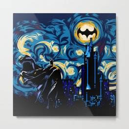 Starry Knight iPhone 4 4s 5 5c 6, pillow case, mugs and tshirt Metal Print