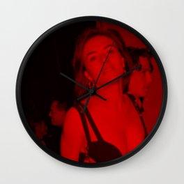Elizabeth Hurley Cop - Celebrity (Photographic Art) Wall Clock