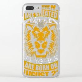 Best-Men-Are-Born-On-August-22---Sao-chép---Sao-chép Clear iPhone Case