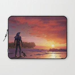 Chomp Sr Sunset Skin Laptop Sleeve