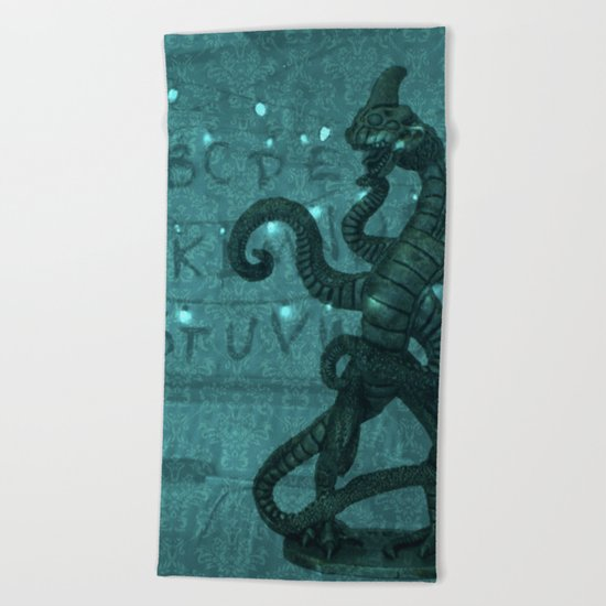StrangerThings Beach Towel