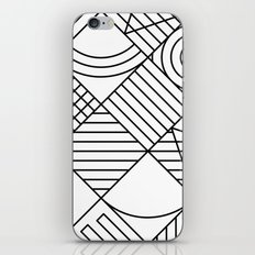 Whackadoodle White and black iPhone Skin
