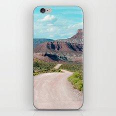 Dirt Road Home (La Verkin, Utah) iPhone & iPod Skin