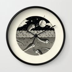 Convening on the Full Moon Wall Clock