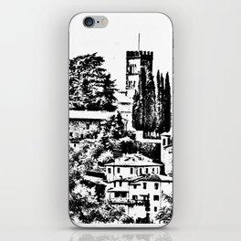 Duomo of Barga iPhone Skin