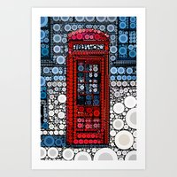 telephone Art Prints featuring Telephone by start from scratch