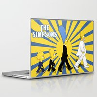simpson Laptop & iPad Skins featuring Simpson Sun by sgrunfo