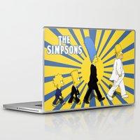 simpson Laptop & iPad Skins featuring Simpson Sun by sgrunfo