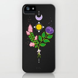 Floral Balance iPhone Case