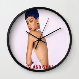 IslandGirl Wall Clock