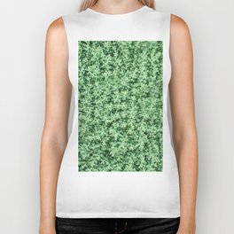 Nature print, Green rapeseed agriculture field Top View. Rapeseed. Biker Tank