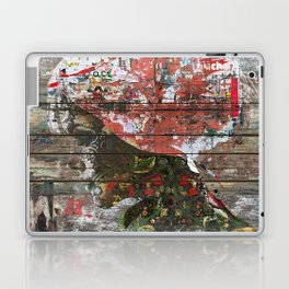 Hidden Nature (Profile of Woman) Laptop & iPad Skin