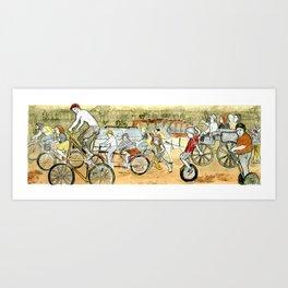 Savannah Transportation  Art Print